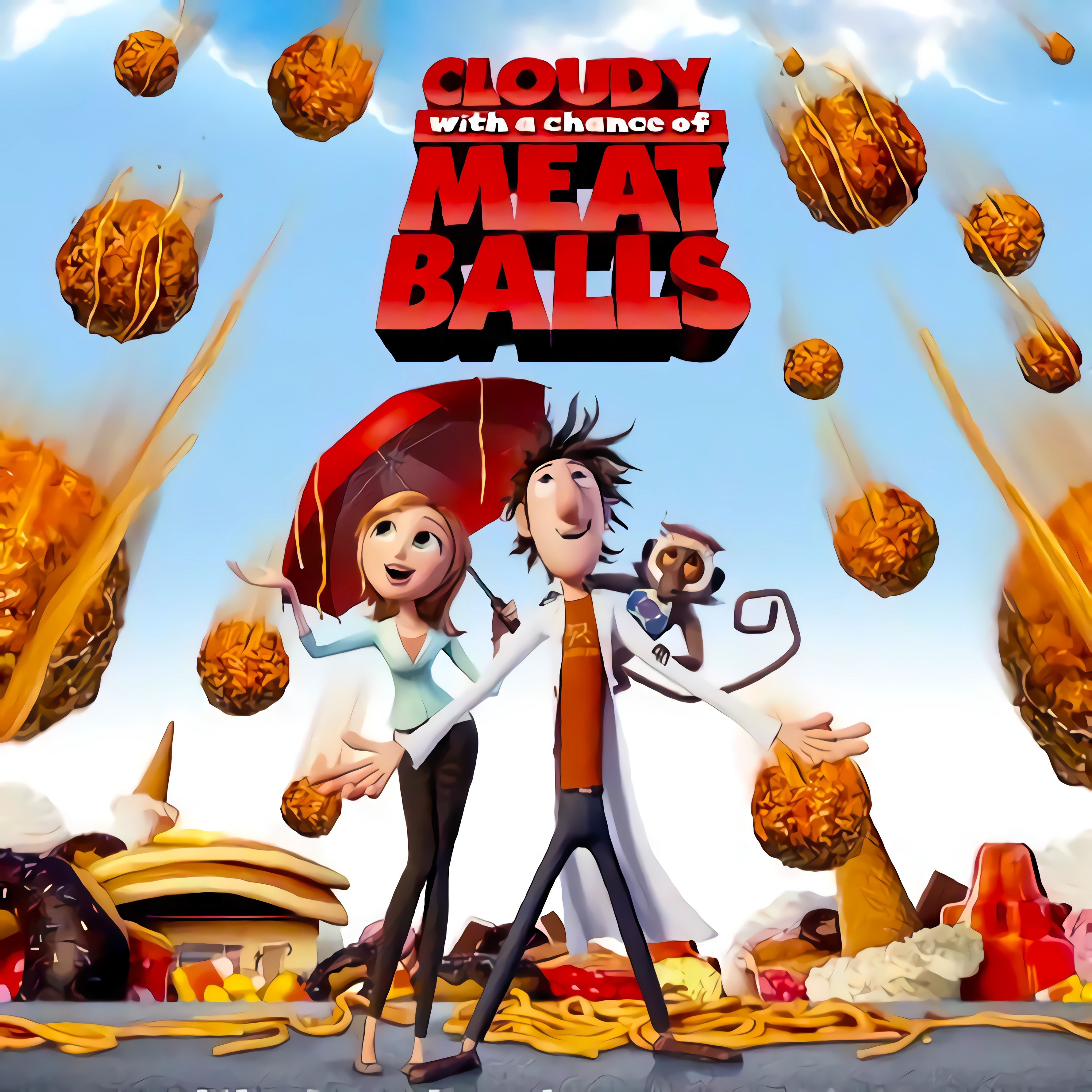 It's Raining Man - Cloudy With A Chance of Meatballs