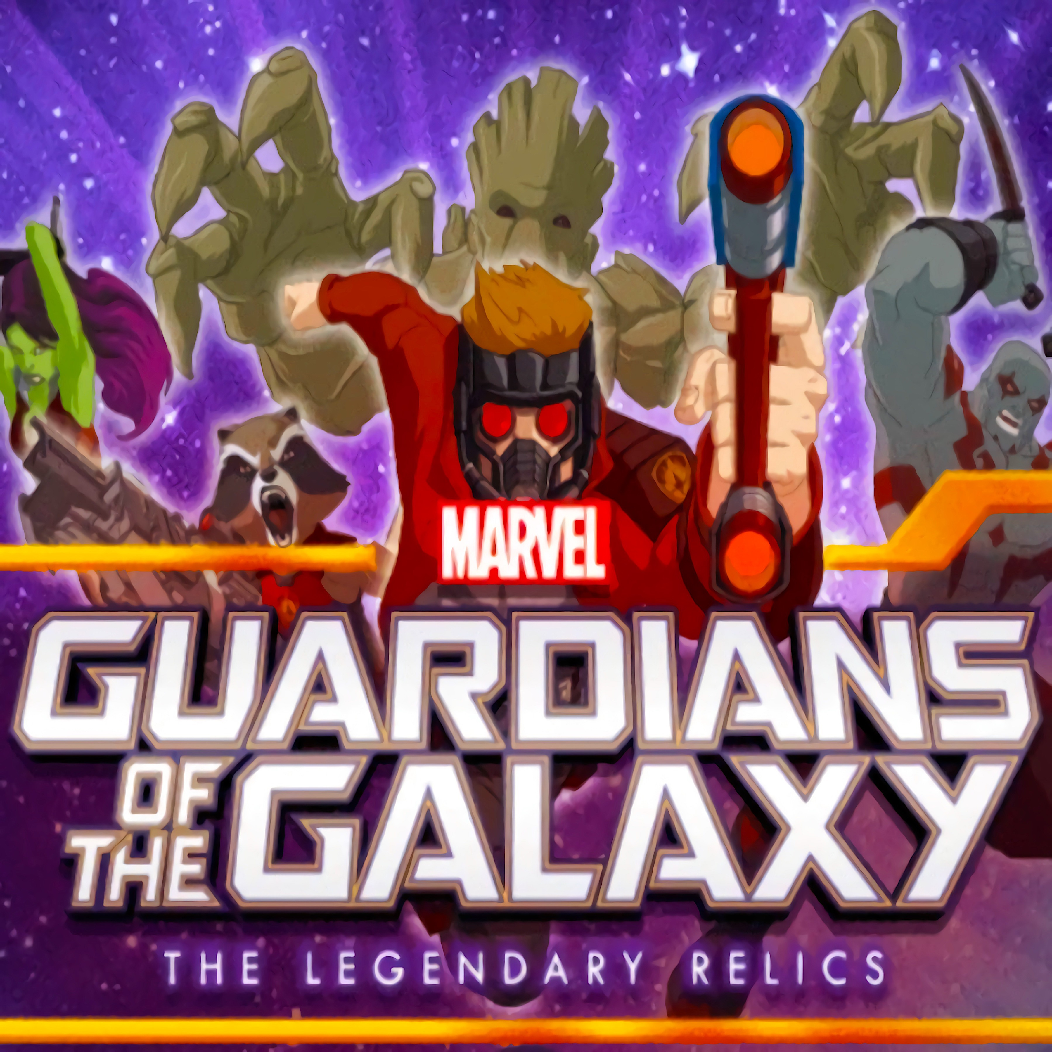 Legendary Relics - Guardians of the Galaxy