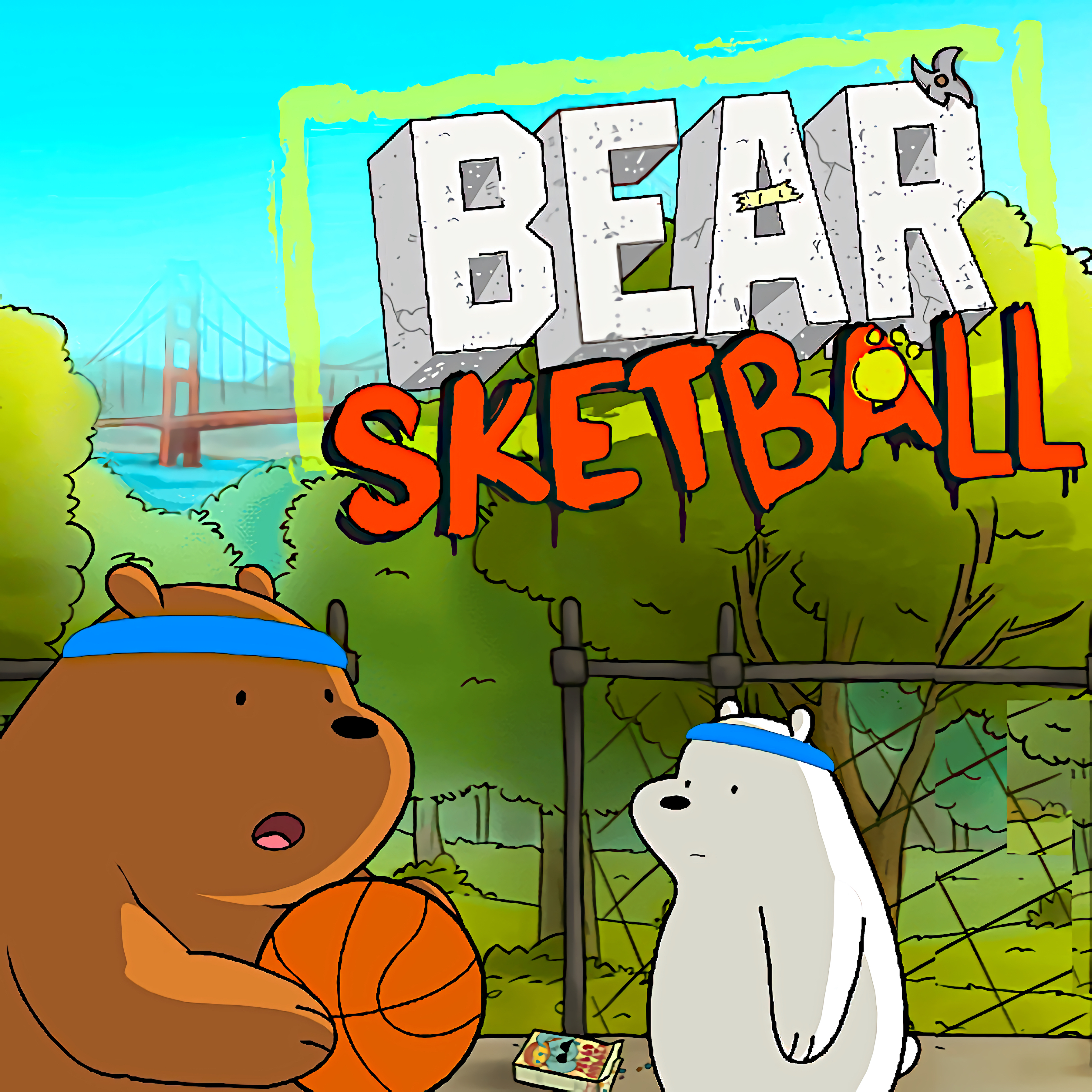 Bearsketball - We Bare Bears